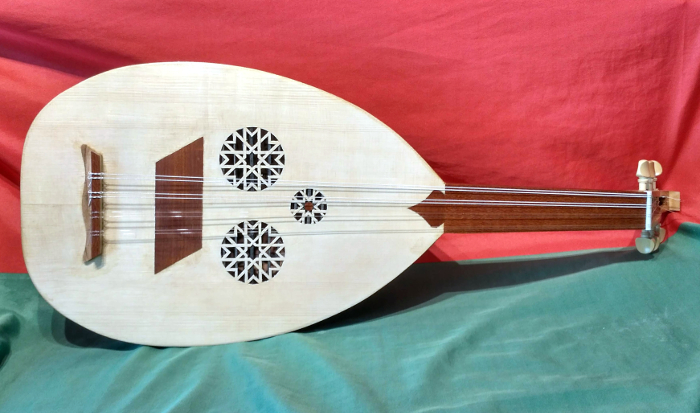 Oud Arbi or Andalusian Oud - Instrument by Jo Dusepo