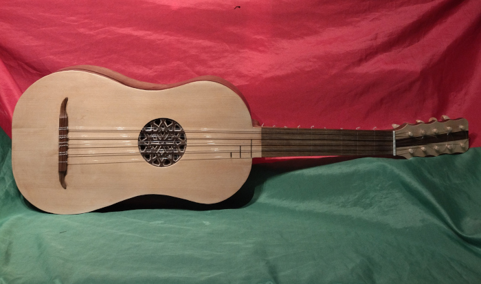 Baroque Guitar - Instrument by Jo Dusepo