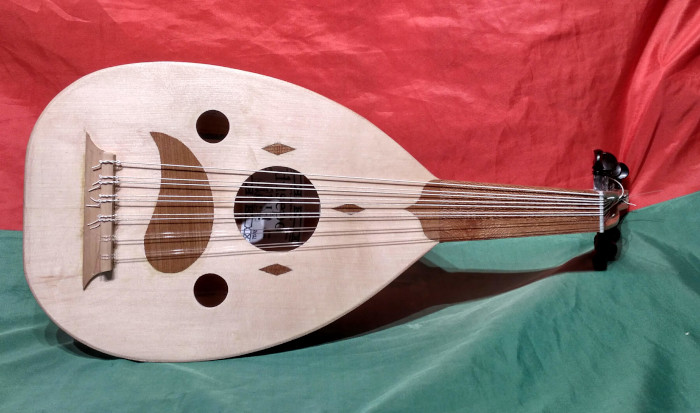Childen's Oud or Soprano Oud - Instrument by Jo Dusepo