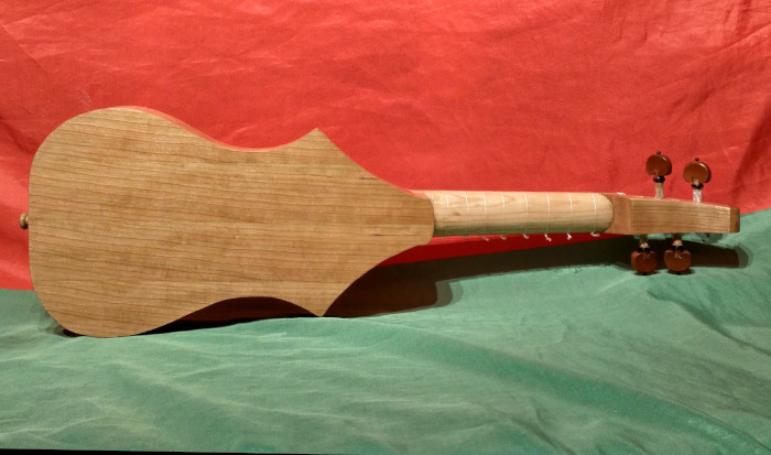 Citole or Guitarra Latina - Instrument by Jo Dusepo