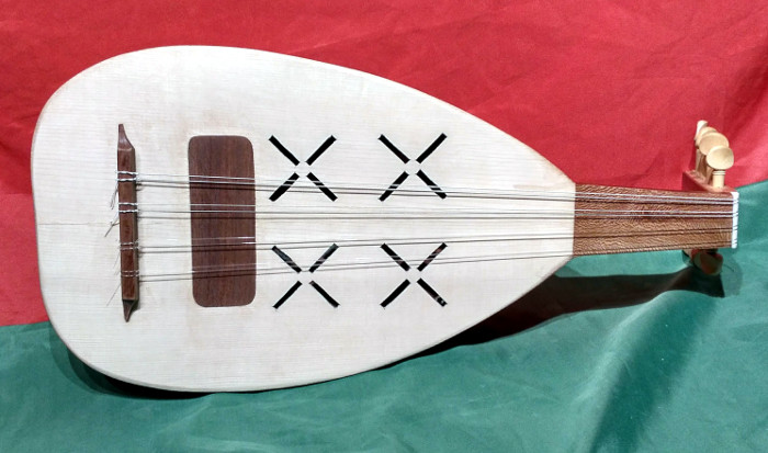 Cobza or Koboz - Instrument by Jo Dusepo