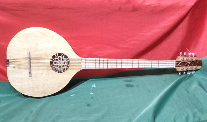 Modern  Cittern or Irish Bouzouki - Instrument by Jo Dusepo
